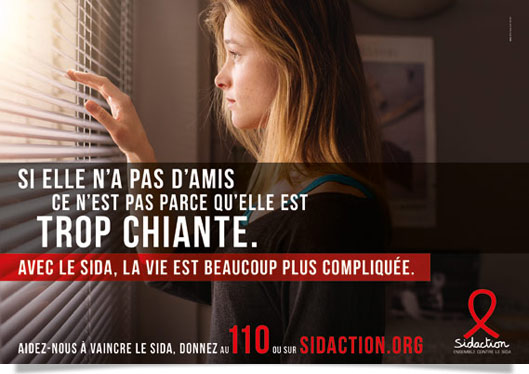 campagne Sidaction 2016