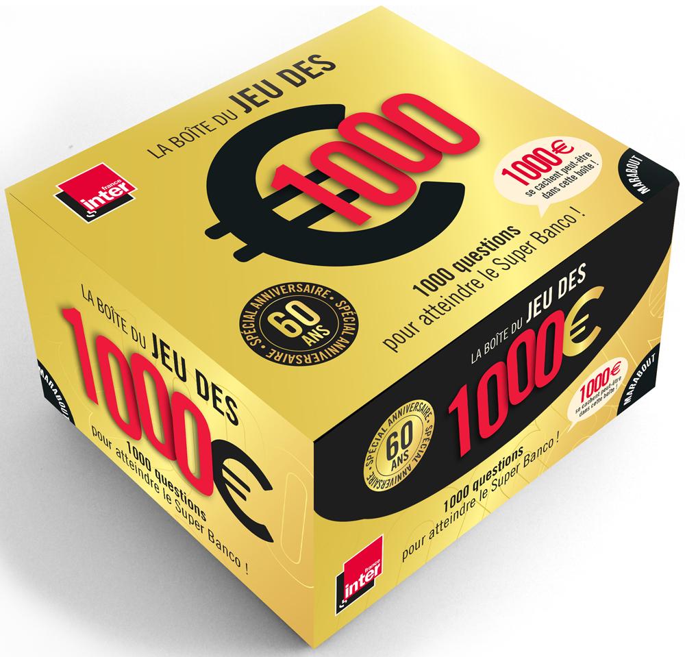 Boîte Du Jeu Des 1000 Euros Spécial Anniversaire 60 Ans