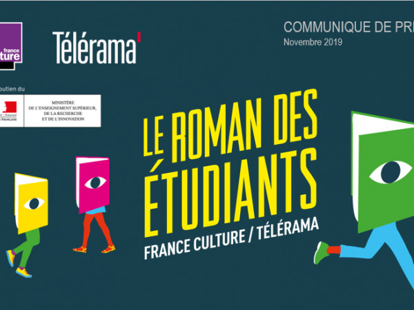 France Culture / Les étudiants de Bordeaux rencontrent Sylvain Prudhomme - Le Roman des étudiants France Culture-Télérama